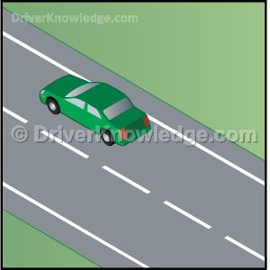 which lane for slow driving