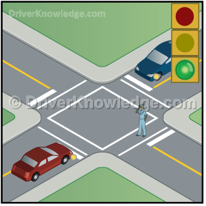 Pedestrians have right-of-way over all others