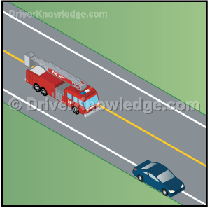 yield to an emergency vehicle